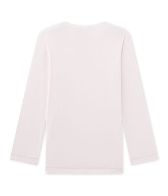 Tee-shirt de pyjama fille Mix & Match rose Vienne