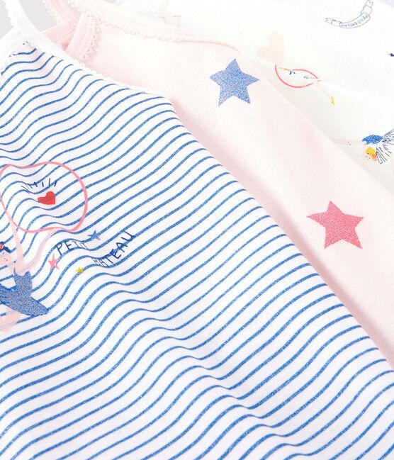 Lot de 3 chemises à bretelles féériques petite fille lot .