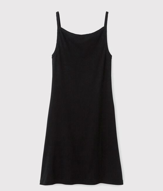 Robe à bretelles Femme noir Noir