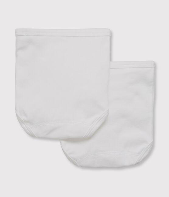 Lot de 2 de culottes blanches bébé lot .