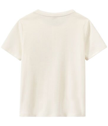 T-shirt garçon à col tunisien