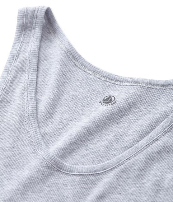 Nuisette femme en coton ultra light gris Fumee Chine