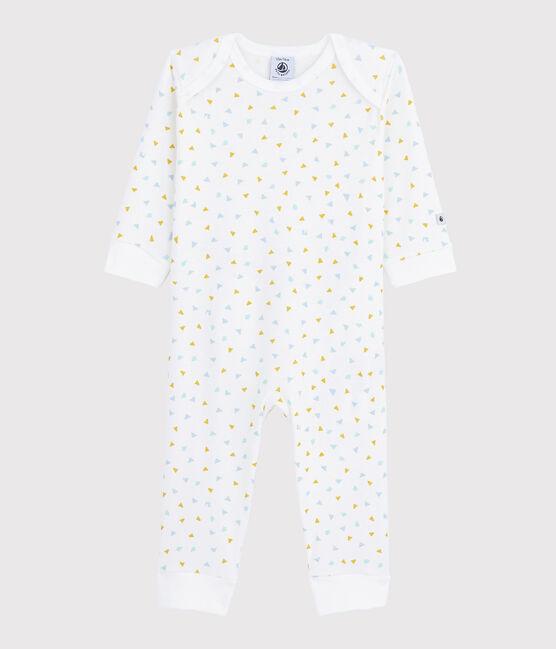 Dors-bien sans pression confettis bébé en coton blanc Marshmallow / blanc Multico