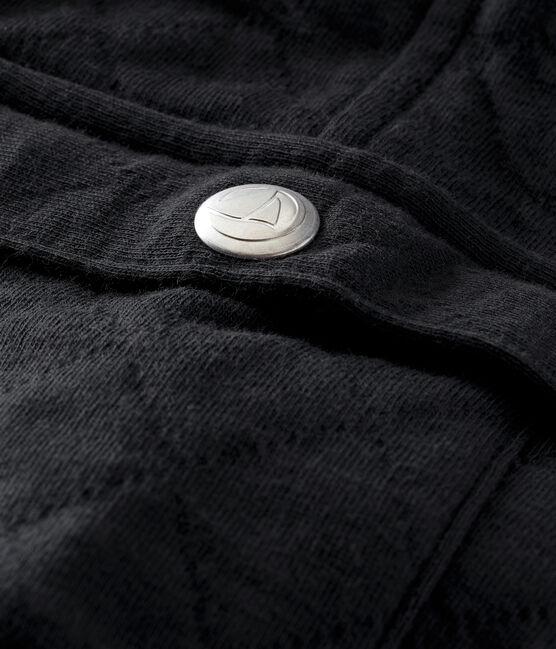 Pantalon bébé garçon en tubique matelassé gris Capecod