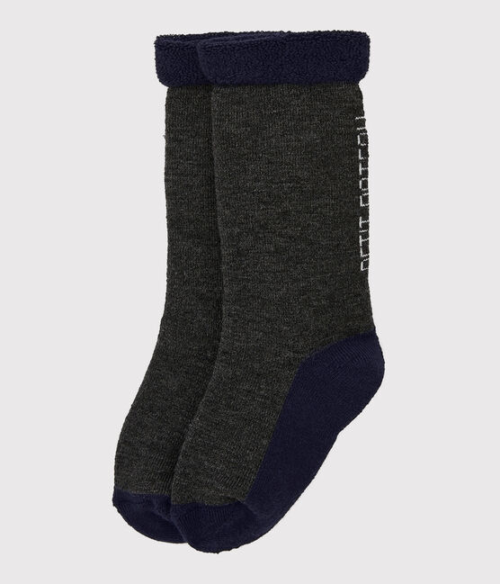 Chaussettes fille/garçon gris City Chine