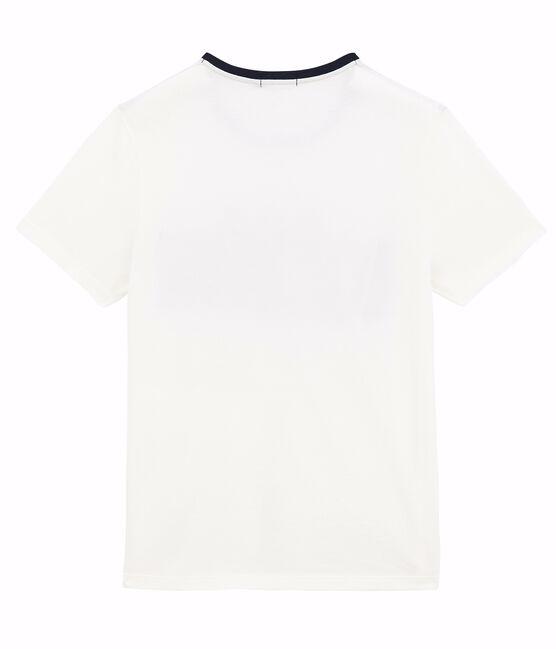 Tee-shirt manches courtes unisex blanc Marshmallow