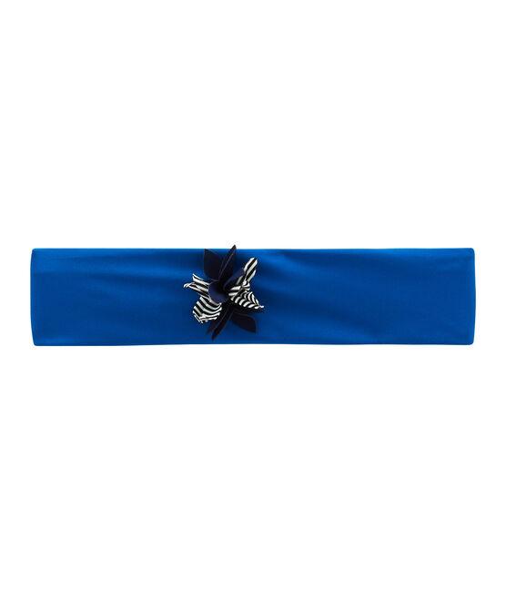Bandeau de bain enfant fille bleu Riyadh