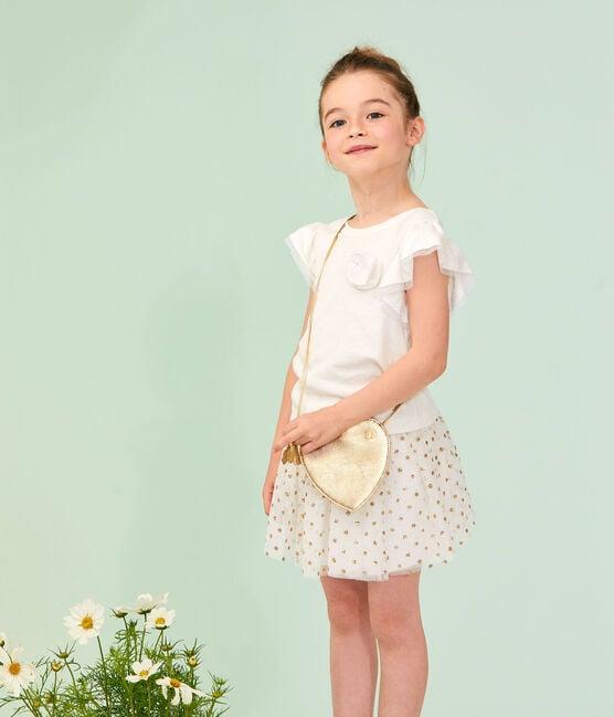 Pochette enfant fille jaune Dore