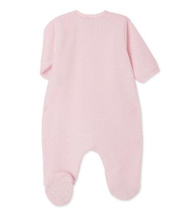 Surpyjama bébé fille rose Vienne / gris Mistigri