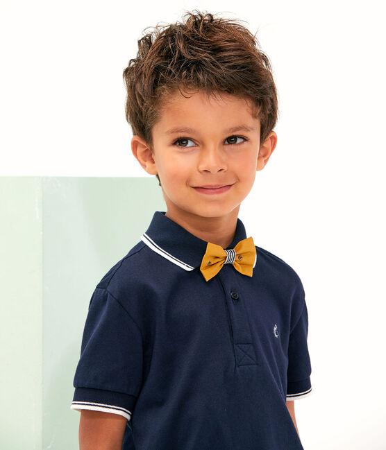 Nœud papillon enfant garçon jaune Topaze