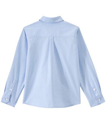 Chemise enfant garçon bleu Bleu