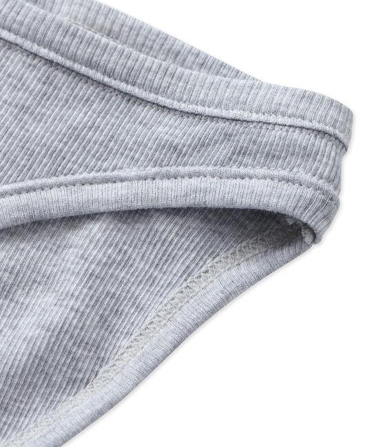 Culotte femme en coton gris Fumee Chine