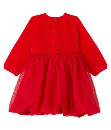 Robe bébé fille rouge Terkuit