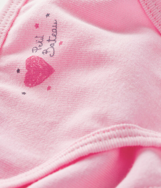 Culotte petite fille rose Bonbec