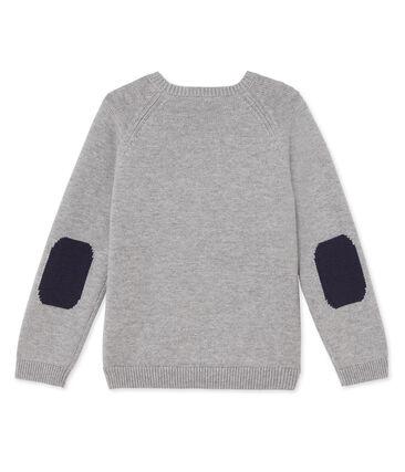 Pull garçon en laine et coton