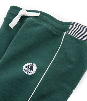 Pantalon molleton enfant garçon vert Sousbois