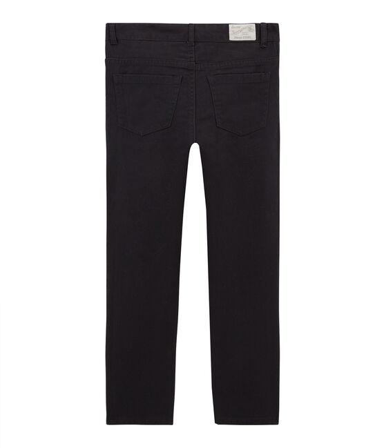 Pantalon garçon en denim gris Capecod