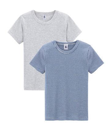 Duo de tee-shirts manches courtes petit garçon