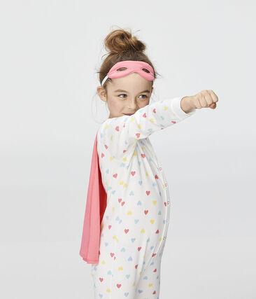 Combinaison déguisement petite fille blanc Marshmallow / blanc Multico