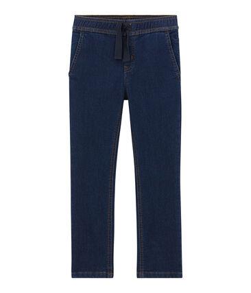 Pantalon garçon en denim