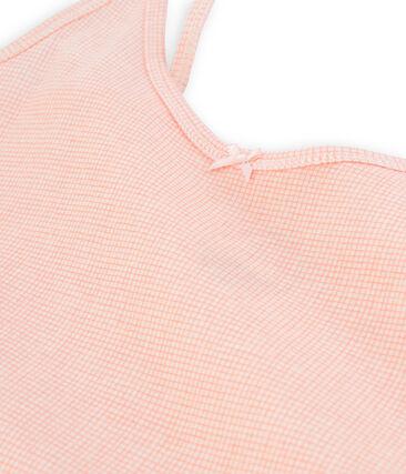 Chemise à bretelles femme