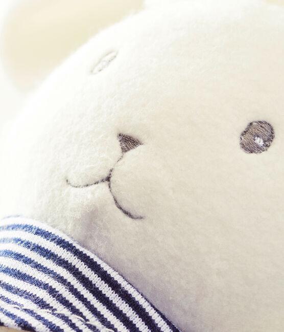 Doudou lapin musical blanc Marshmallow