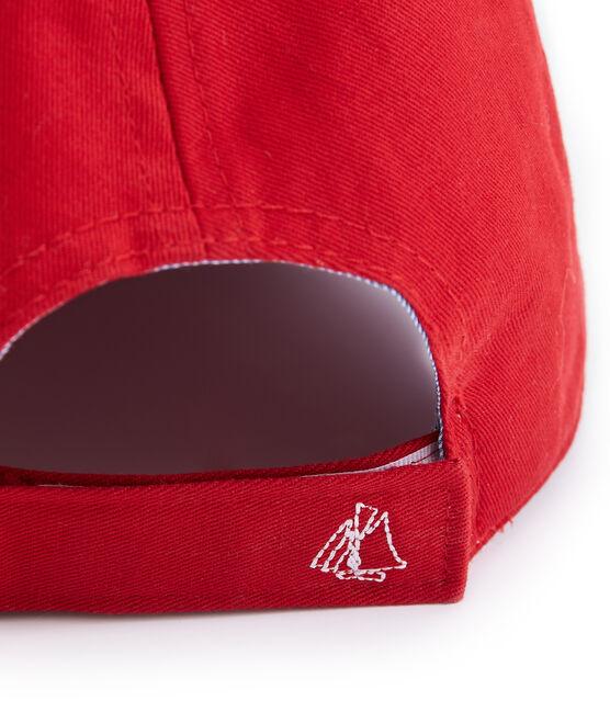 Casquette enfant mixte rouge Terkuit