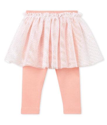 Jupe legging bébé fille rose Rosako / rose Copper