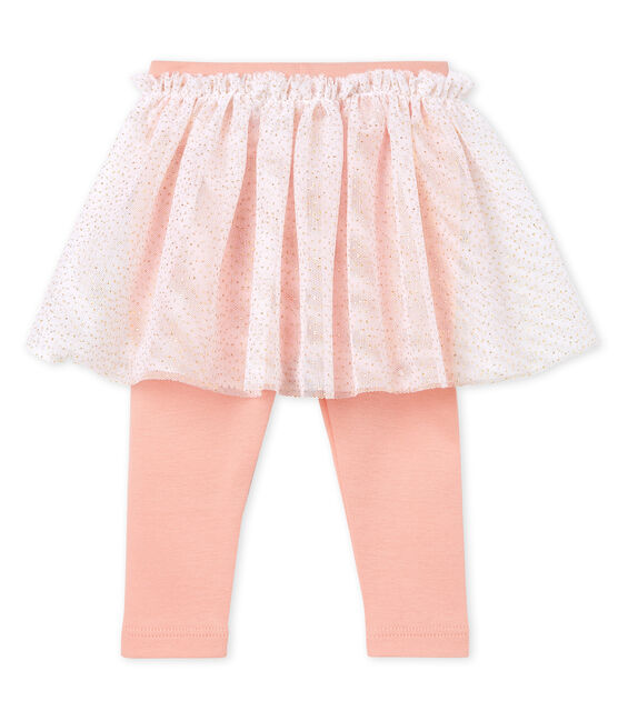 Jupe legging bébé fille rose Rosako / rose Copper