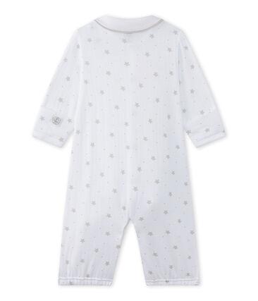 Combisac bébé mixte 2 en 1 blanc Ecume / marron Shitake
