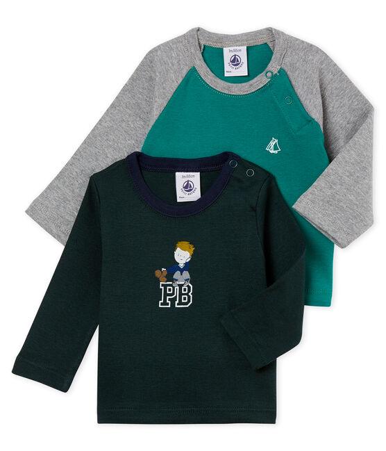 Lot de deux tee-shirts bébé garçon lot .
