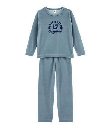 Pyjama petit garçon bleu Astro