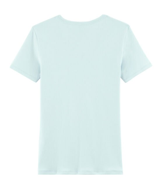 Tee shirt iconique femme bleu Crystal