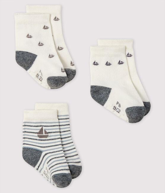 Lot de 3 chaussettes bébé garçon lot .
