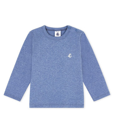 Tee shirt manches longues bébé garçon bleu Captain Chine