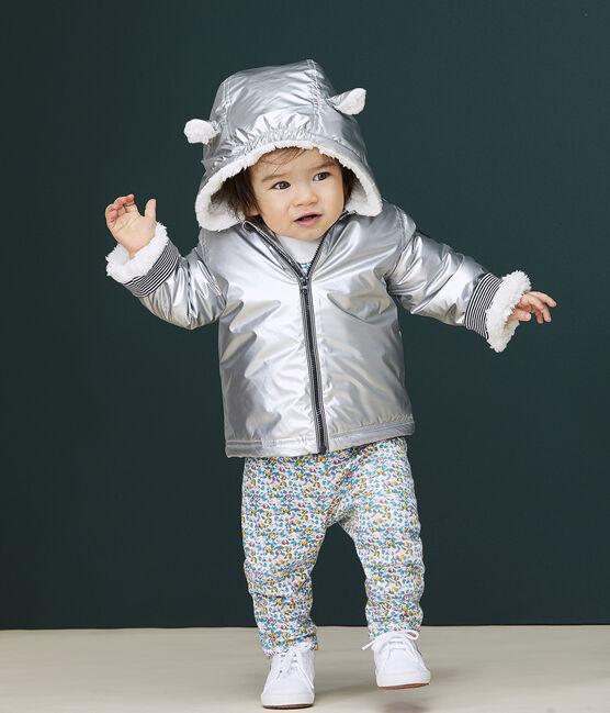 Pantalon bébé fille blanc Marshmallow / blanc Multico