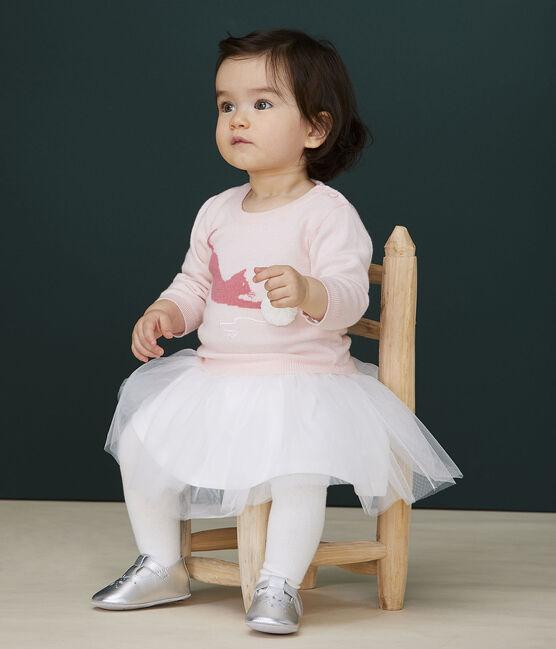 Robe manches longues bébé fille rose Minois
