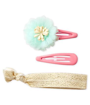 Lot d'accesoires pour cheveux enfant fille