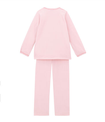 Pyjama petite fille rose Joli