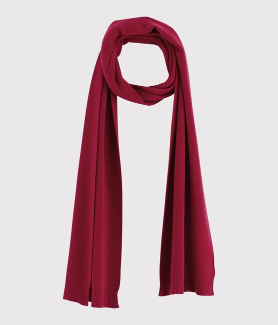 Echarpe en laine Femme rouge Terkuit