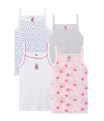 Pochon surprise de 4 chemises à bretelles fille