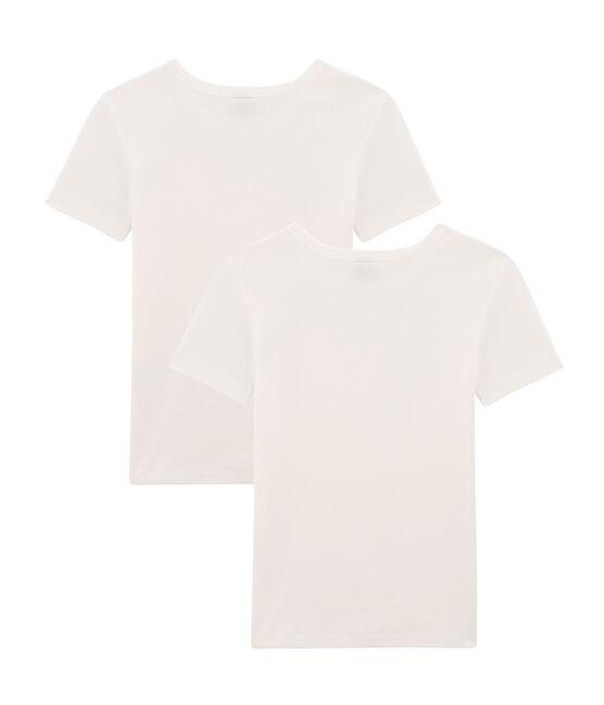 Lot de 2 Tee shirts manches courtes iconique femme lot .