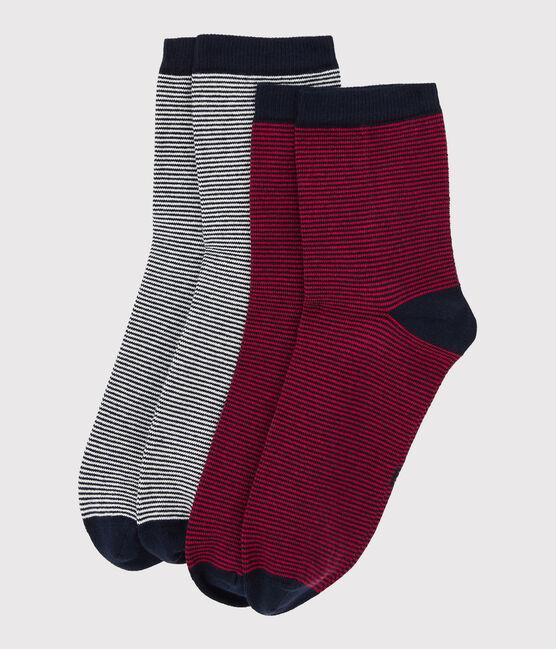 Lot de 2 paires de chaussettes lot .