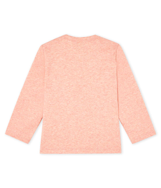 Tee shirt manches longues bébé rose Aster Chine
