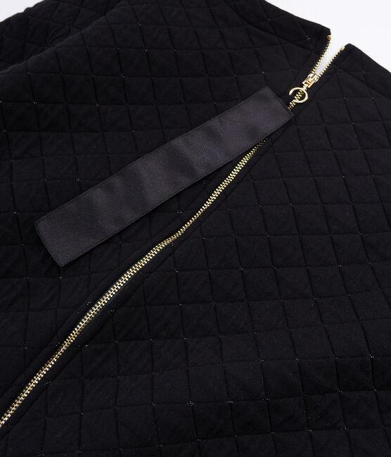 Robe droite tubique femme noir Noir / jaune Dore