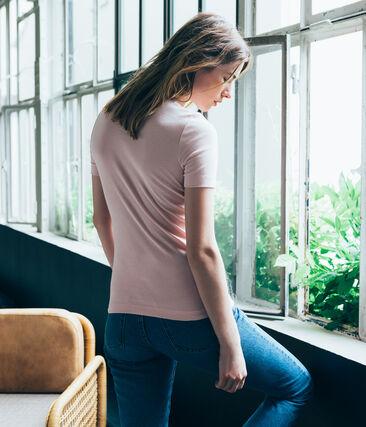 Tee shirt femme manches courtes