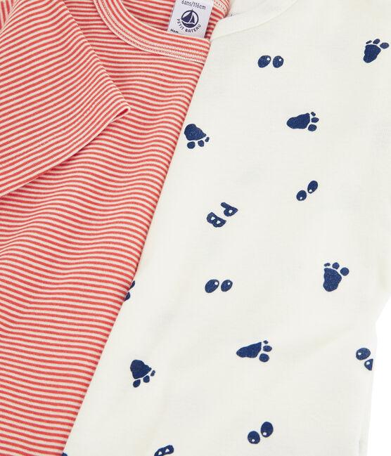 Lot de 2 tee-shirts manches courtes imprimé patte de yéti petit garçon lot .