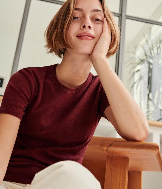 T-shirt iconique col rond Femme ALIVE