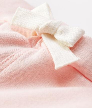 Short bébé garçon en maille rose Minois