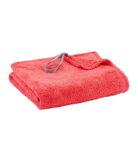 Serviette de bain enfant /adulte mixte rose Groseiller